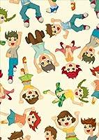 igsticker ポスター ウォールステッカー シール式ステッカー 飾り 841×1189㎜ A0 写真 フォト 壁 インテリア おしゃれ 剥がせる wall sticker poster 004381 その他 キャラクター 模様