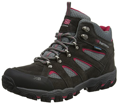 Karrimor Damen Bodmin Mid 5 Ladies Weathertite UK 4 Trekking-& Wanderstiefel, Grau (Grey), 37 EU