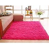 uuingh Haushalt Super Soft Kunstpelz Teppich für Schlafzimmer Sofa Wohnzimmer Teppiche