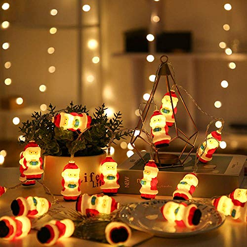 nobranded Christmas decorations, home accessories, Christmas tree, Santa Claus, decorative lights, LED copper wire lights, decorative pendants and pendants