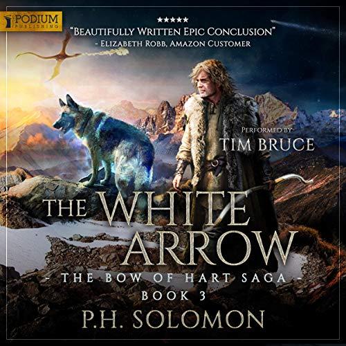 The White Arrow audiobook cover art
