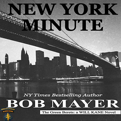 New York Minute Audiobook By Bob Mayer cover art