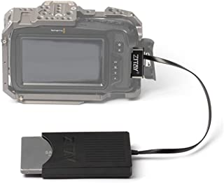 ZITAY CCTECH CFast to SSD, CFast2.0 to 2.5 inch SATA SSD Card Converter, CFast Adapter Canon C200 C300 EOS 1DX Mark II Bla...
