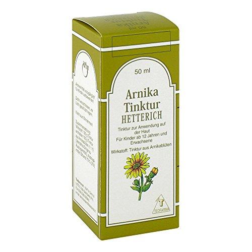 Arnikatinktur Hetterich 50 ml