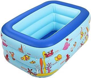 SYLOZ-Q Baby Child Swimming Pool Plastic Inflatable Bathtub Foldable Bathing Bucket Indoor/outdoor Inflatable Swimming Poo...