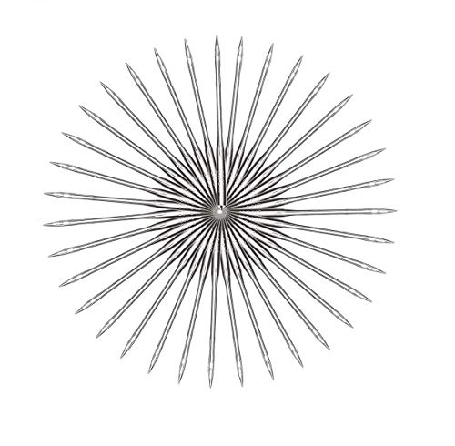100pcs Agujas de máquina universales, agujas de máquina usadas para Singer, Brother, Janome, Varmax, tamaños 65/9, 75/11, 90/14, 100/16, 110/18