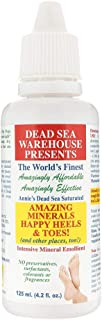 Dead Sea Warehouse - Amazing Minerals Happy Heels and Toes (and other places, too) Intensive Mineral Emollient, All Natural Relief for Rough, Dry, Cracked and Uncomfortable Heels and Toes (4.2 Ounce)