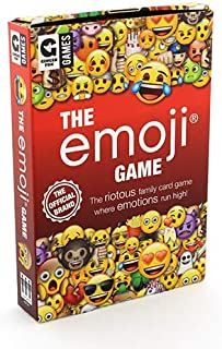 Ginger Fox Official Emoji Card Game - Fun Family Games
