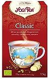 Yogi Tea - Classic, Infusión Ayurvédica de Especias con Canela, Cardamomo y Jengibre - 17 Bolsitas, 37,4g