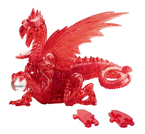 Beverly 56 Stück Kristall Puzzle Red Dragon