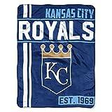 Northwest MLB Kansas City Royals Micro Raschel Throw, One Size, Multicolor