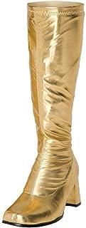 Zapatos con hebilla BS12733 para mujer, estilo retro de los años 60 y 70 para fiestas de disfraces