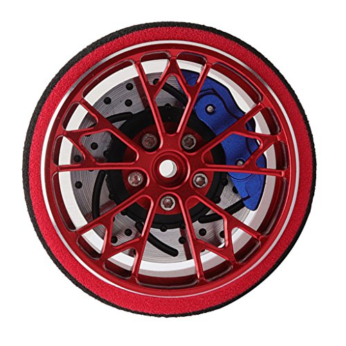 Sharplace RC Car Fernbedienung Handrad Hand Wheel für Sanwa M11 X Mt4 4 S - Rot