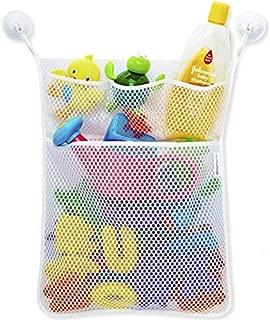 TOOGOO Kids Baby Bath Toys Tidy Storage Ventosa Bolsa Bebe Bano Juguetes Mesh Bag Organizer Net