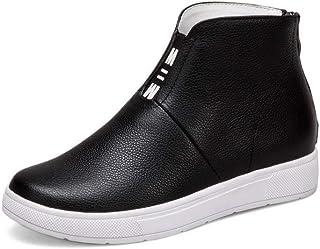 BalaMasa Womens Solid Boots Comfort Urethane Boots ABM12962
