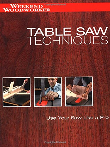 Table Saw Techniques: Use Your Saw Like a Pro (Weekend Workshop)