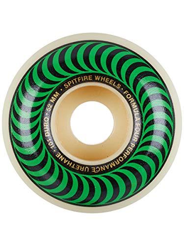 Spitfire Skateboard Wheels Formula Four 101D 52mn Classics Shape Wheels