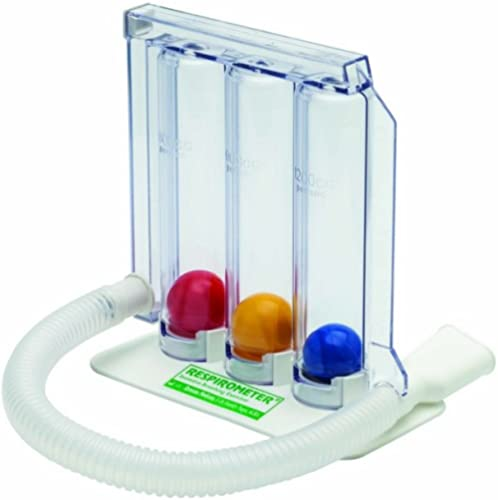 Romsons Respirometer SH-6082 Three Ball Breathing Exerciser (Single) by Romsons