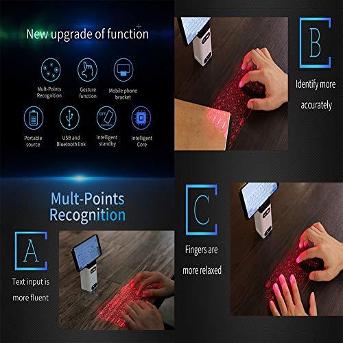 ワイヤレスプロジェクションBluetooth仮想キーボード