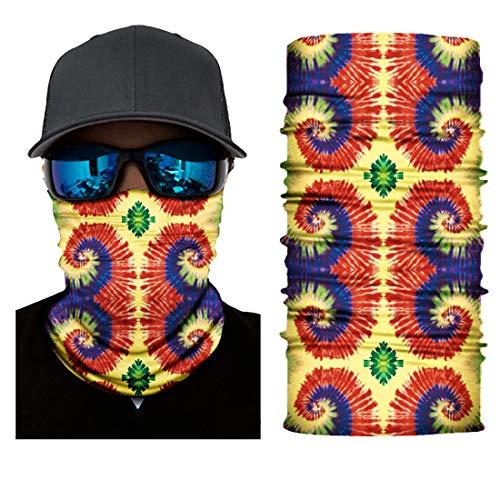 Black Roses Multifunktionstuch Herren & Damen - Wind Face Shield [Salsa]