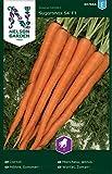 Möhren Samen Sugarsnax 54 F1 - Nelson Garden Gemüse Saatgut - Karotten Samen (300 Stück) (Einzelpackung)