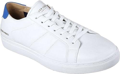 Skechers Hommes's Venice T- Kinane Fashion paniers blanc bleu 9.5 9.5 D(M) US  mieux acheter