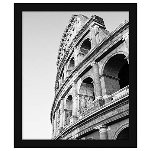 Americanflat 20x24 Poster Frame in Black with Polished Plexiglass - Horizontal and Vertical Formats with Included Hanging Hardware