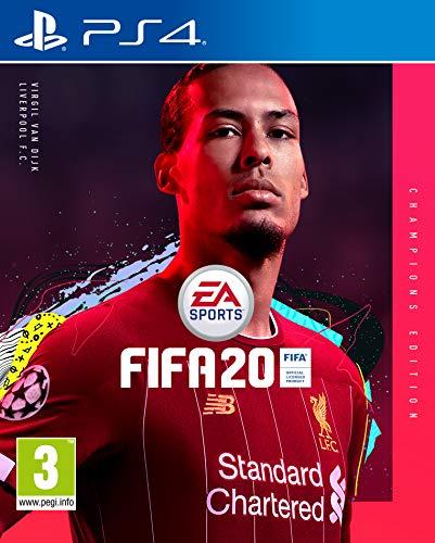 FIFA 20 - Champions - PlayStation 4, 3 anni +