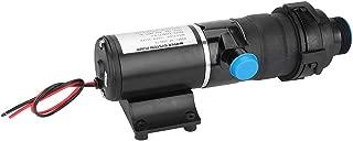 Macerator Pump, DC 12V Quick Release RV Mount Macerator Water Pump for Waste Toilet Sewerage Water Marine Boat Self-priming