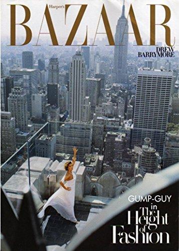 Harper's Bazaar February 2007 - Drew Barrymore