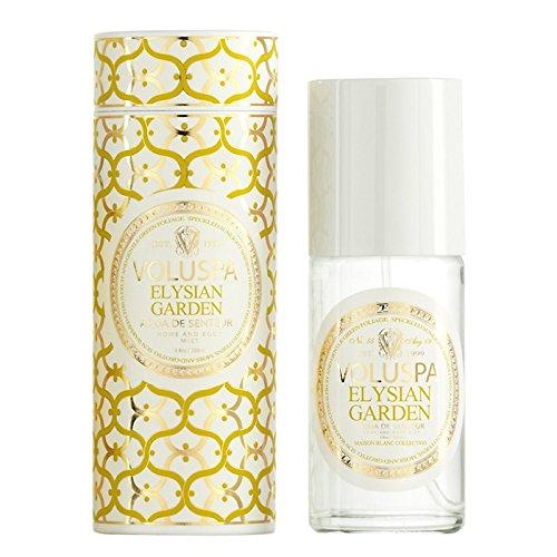 Voluspa Elysian Garden Aqua De Senteur Room and Body Mist, 3.8 Ounce