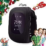 Montre de Téléphone des Enfants,Enfants Montres Intelligente Temps Réél GPS/LBS...