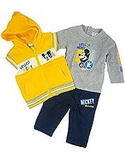 Mickey Mouse bebé-niños Camiseta + Pantalones + Sudadera