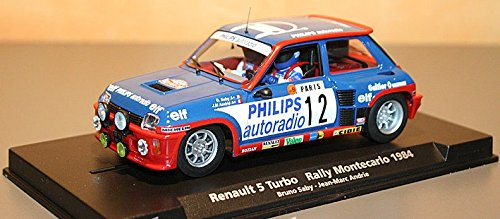 Slot car SCX Scalextric Fly 88163 A1202 Renault 5 Turbo