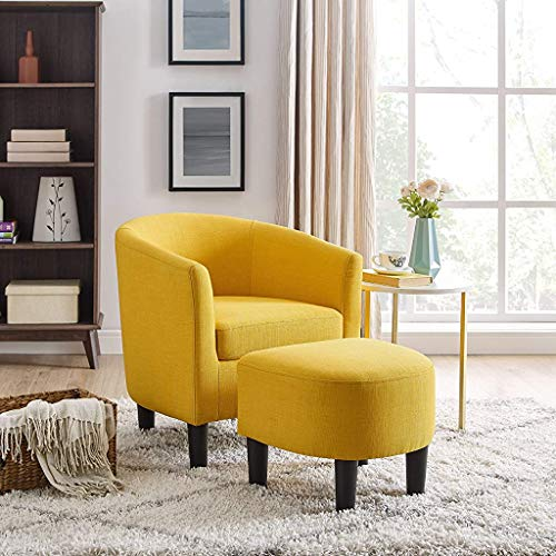 Oadeer Home Chair Sofas, Yellow