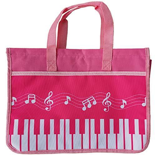 Tasti Di Pianoforte Musica Borsa Di Tela Di Qualità Borsa Shopping Bag Studente Riutilizzabile Borsa 27 * 9 * 37 Cm