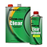 Speedokote Clear Coat 2K Acrylic Urethane, SMR-1150/1102-Q 4:1 Gallon Clearcoat Medium Kit