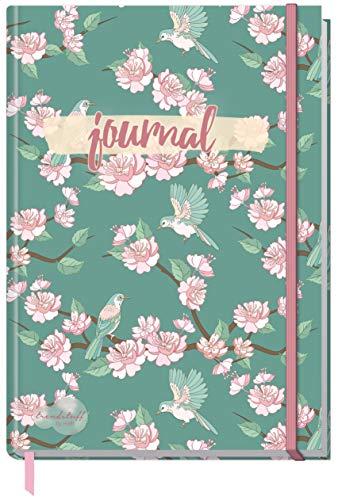 Trend TUFF by häfft: Journal punteado A5con cinta de goma [Primavera], Cuaderno, diario, Bullet de Journal