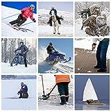 Dr.Warm Beheizbare Einlegesohlen Thermosohlen mit Intelligentem Drahtlose Fernbedienung, USB Wiederaufladbar Schuheinlagen für Skifahren Wandern Angeln Unisex (S 35-40 EU) - 3