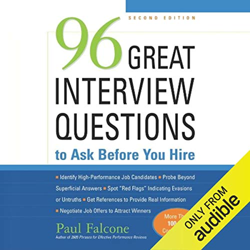 96 Great Interview Questions to Ask before You Hire, Second Edition Titelbild