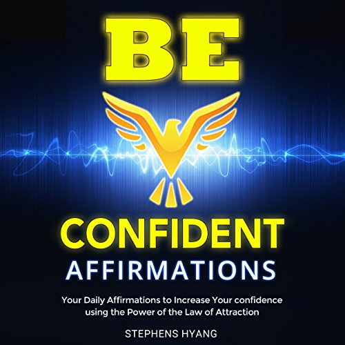 Be Confident Affirmations audiobook cover art
