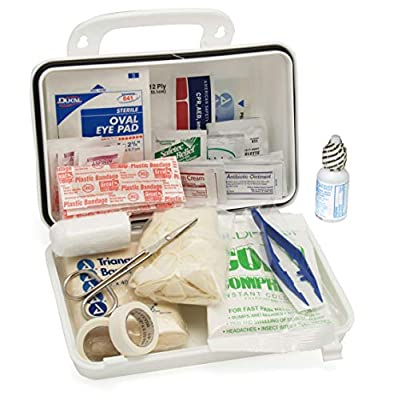 Medique 733P10P 10-Person Plastic First Aid Kit by Medique Products