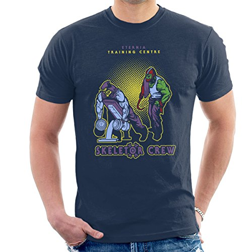 Eternia Training Centre Skeletor Crew He Man Gym Men's T-Shirt