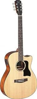 James Neligan 6 String BES-ACE N Bessie Series Auditorium Cutaway Acoustic-Electric Guitar-Natural