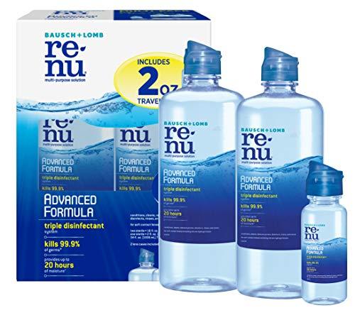 Renu Advanced Formula Multi-Purpose Solution, 16 Ounce, Multi-Pack