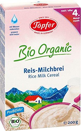 Töpfer Bio-Reis-Milchbrei, 200g