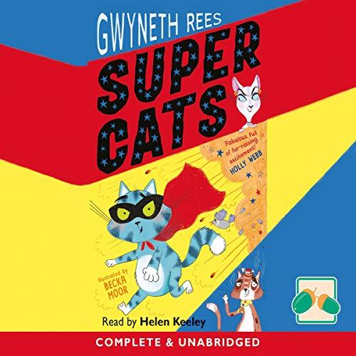 Super Cats audiobook cover art