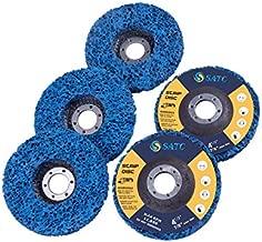 SATC Strip Discs 5PCS Bule Stripping Wheel 4-1/2