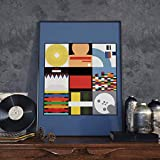 Radiohead Inspired Poster 'Minimalist Album Collage' (A1 Size)