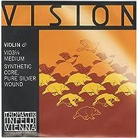 Vision ヴィジョン バイオリン弦 D線 シルバー巻 VI03 1/4